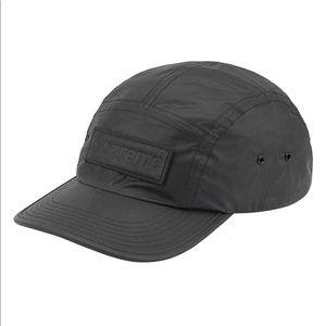 Supreme Reflective Speckled Camp Cap - Black